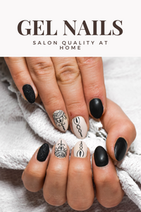 SALON QUALITY GEL NAILS AT HOME