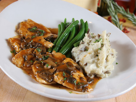 The Best Chicken Marsala