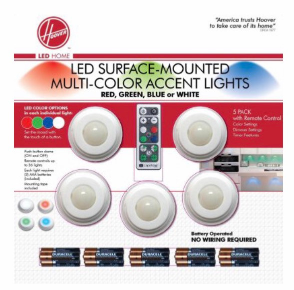 Hoover LED's