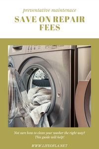 How to clean your washing machine the right way