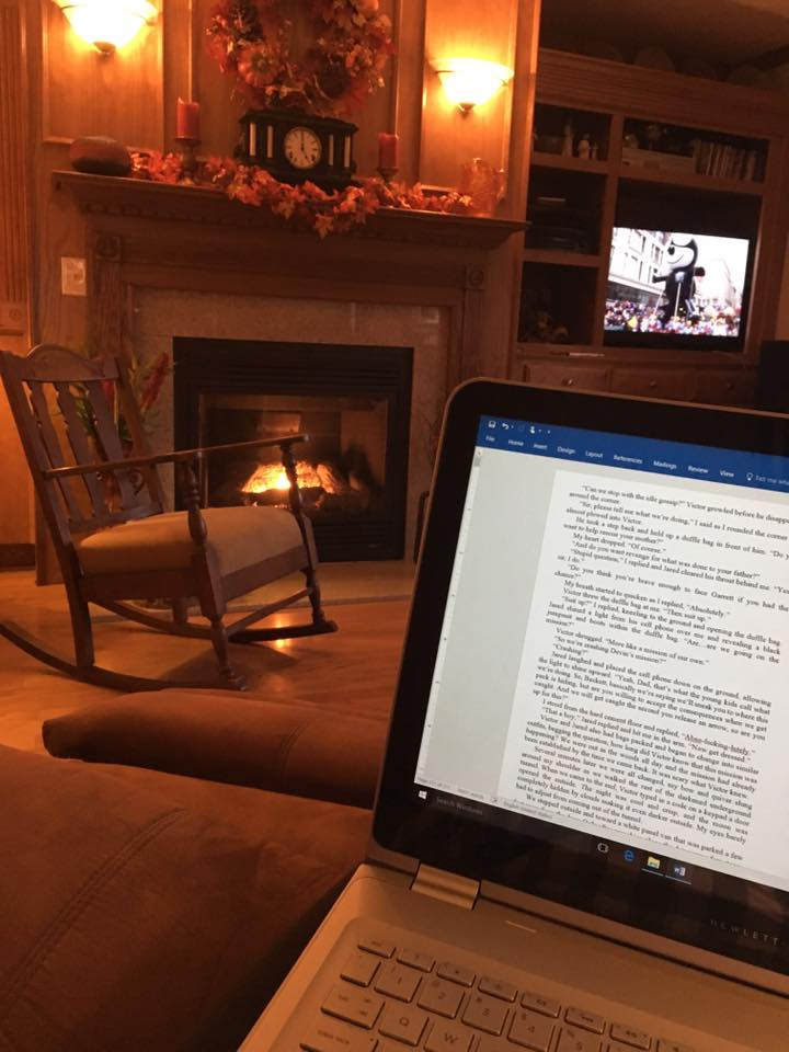 Cozy comfort for writing #4