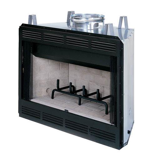 Prefab fire-box unit