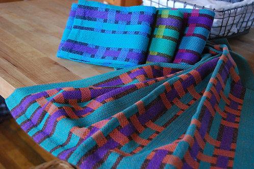 Woven Ribbons Tea Towel