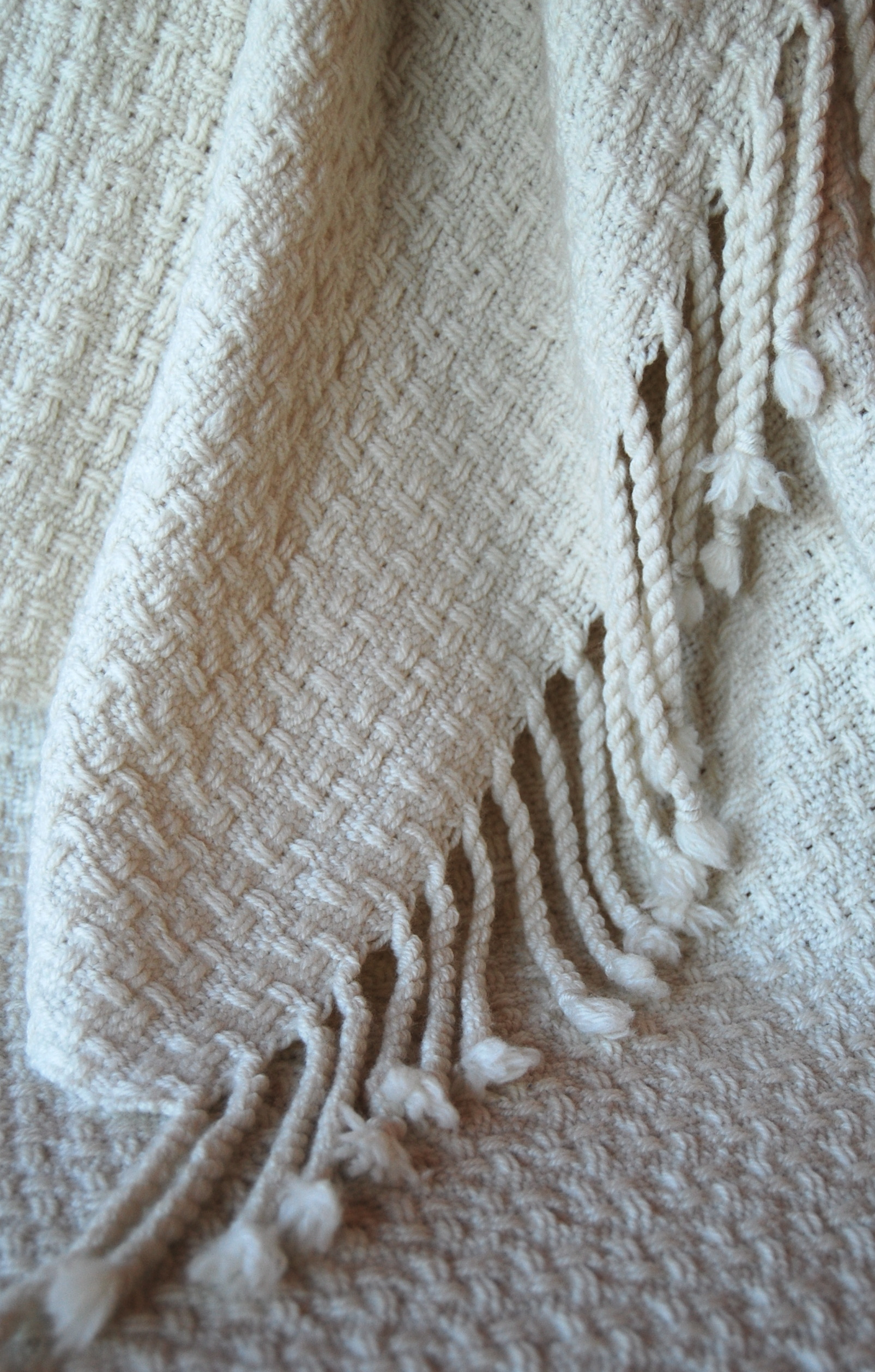 organic merino throw
