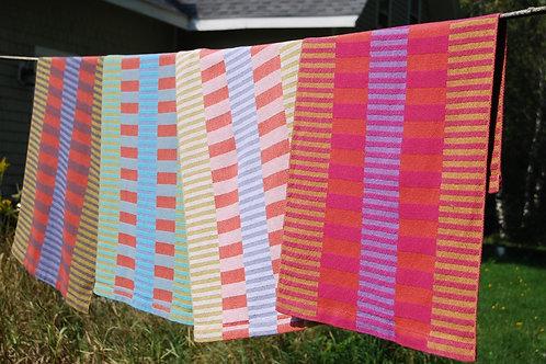 Side By Side Stripes Tea Towel