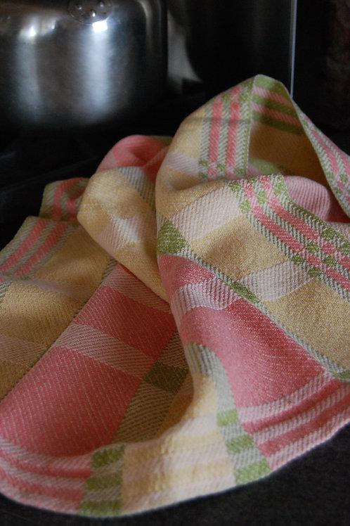 Cottage Walk Tea Towel