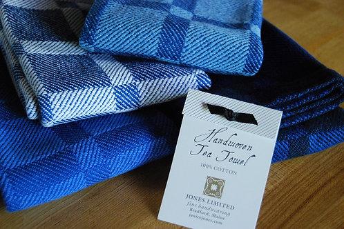 Blueberry Grid Tea Towel