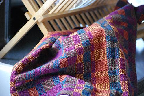 Bauhaus Sunny Autumn Tea Towel