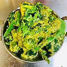 Vegan Green Navrattan