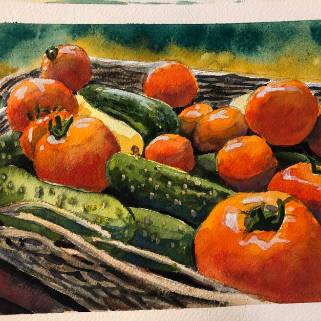 Tomatoes & Cukes