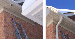 Installing New downspout
