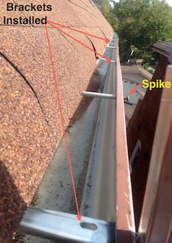 Installing new brackets (Clips)