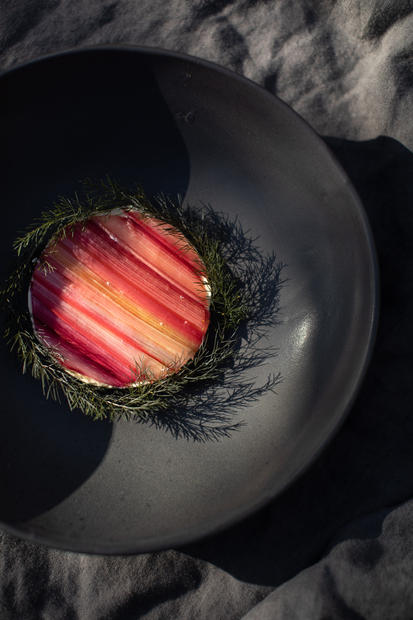 Beetroot & Rhubarb