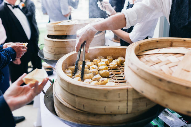 Freshly Steamed Dumpling Station