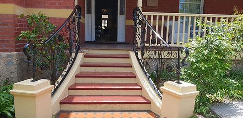 wrought iron handrail
