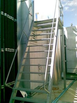 Steel Access Ladder