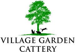 Village Garden Cattery Logo