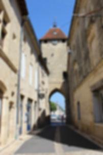 Cité médiévale de Saint-Macaire