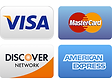 Pay using Visa, MasterCard, Discover or American Express