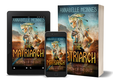 Cover reveal - The Matriarch