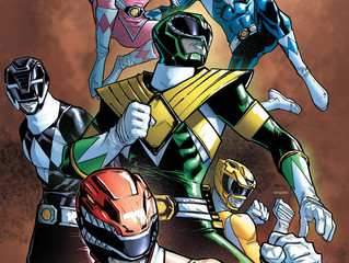 AMAZING LAS VEGAS COMIC CON Celebrated the SHATTERED GRID with  POWER RANGERS' JASON DAVID FRANK