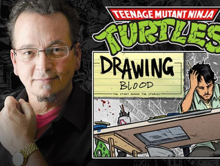 AMAZING COMIC CON UNBOXING with KEVIN EASTMAN