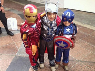 AMAZING COMIC CON PROGRAMMING NOTES: KID's DAY coming to LAS VEGAS SUNDAY JUNE 25!