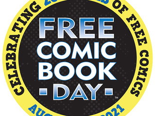 Free Comic Book Day - THIS Saturday!