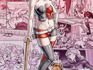 AMAZING GUEST ANNOUNCEMENT: Harley Quinn Artist, Local Favorite CHAD HARDIN back to Las Vegas!