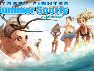 FROM THE STREETS TO THE BEACH! STREET FIGHTER WANTS YOU TO BE THEIR NEXT ARTIST!