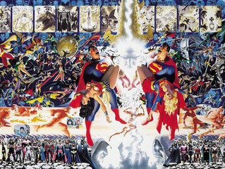 CRISIS ON INFINITE EARTHS coming to TV 2019- MORE POP CULTURE from the ARCHITECTS at AMAZING COMIC C
