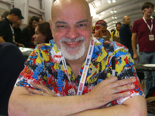 AMAZING LAS VEGAS COMIC CON UPDATED GEORGE PEREZ SIGNING and APPEARANCE INFORMATION