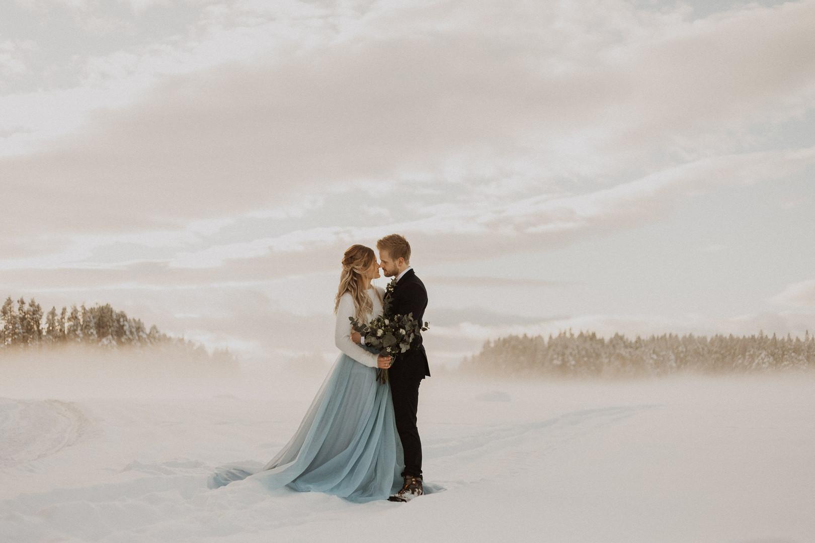 Vinterbröllop i Östersund