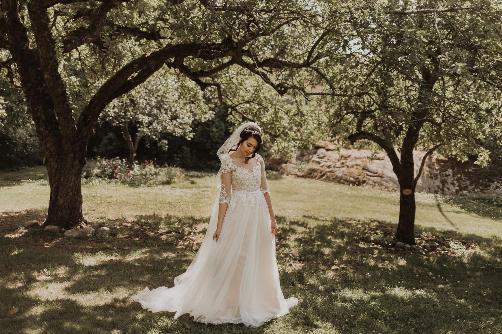 Bröllop vid Cedergrenska tornet