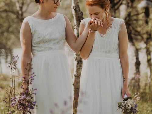 Sommarbröllop i Fjällnäs