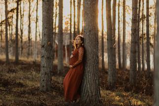 Gravidfotografering på Frösön