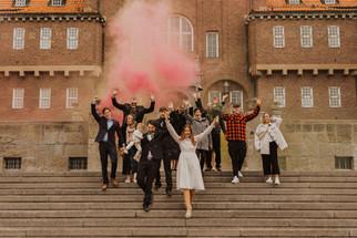 Borgerligt bröllop i Östersund
