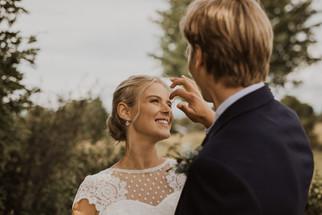Bröllop på Frösön med picknick vid Bynäset