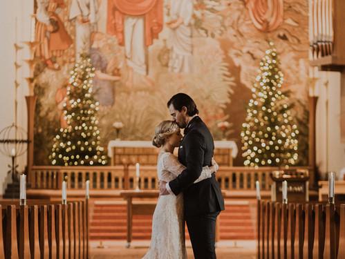 Intim bröllopsfotografering i Östersund