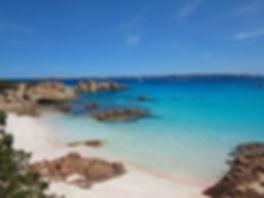 La Spiaggia Rosa- Pink Sand Beach in Italy Sardinia