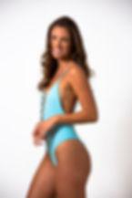 swim suit model in Miami Beach