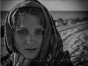Mike Carballo photography headshot of a model on Miami Beach