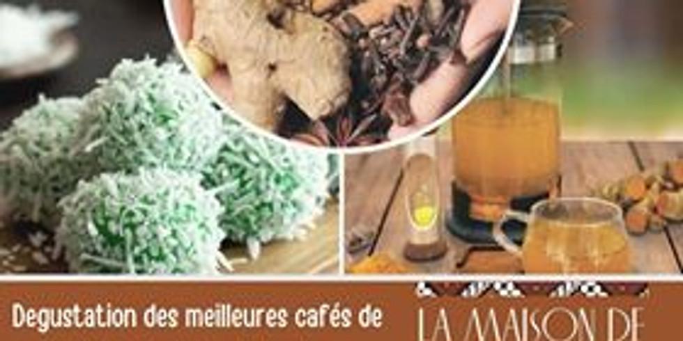 Dégustation Cafés, Jamus, épices, spécialités (1)
