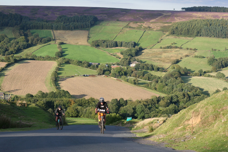 Road Cycling - Rosedale Chimney Bank