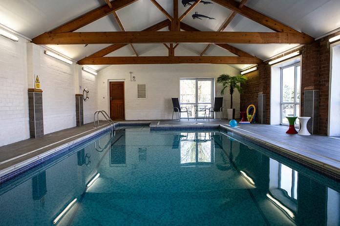 Pool at Beech Farm