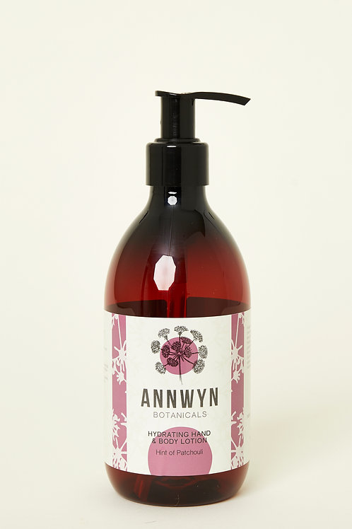 Hydrating Hand & Body Lotion with A Hint of Patchouli