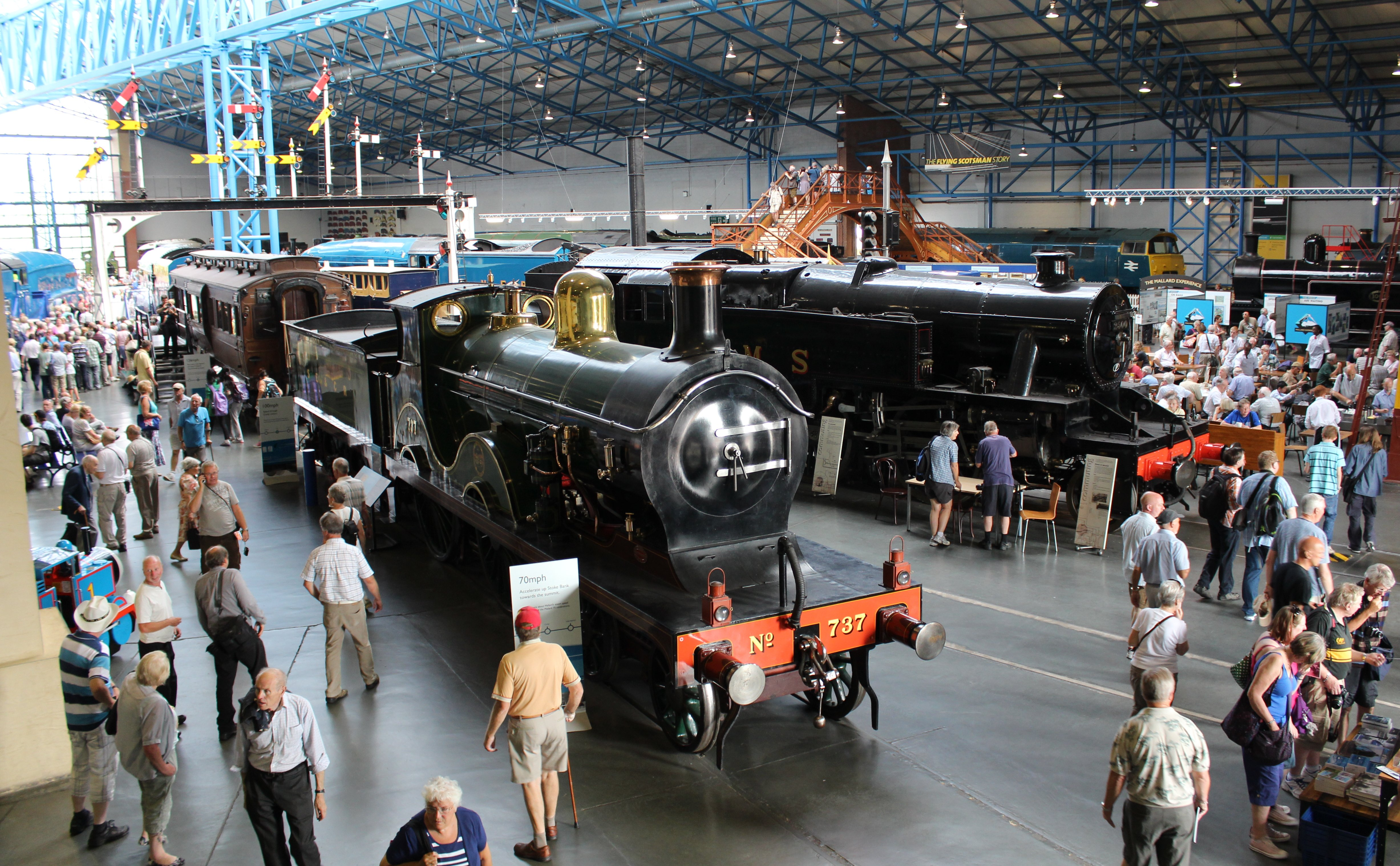 National Railway Museum - 50 mins