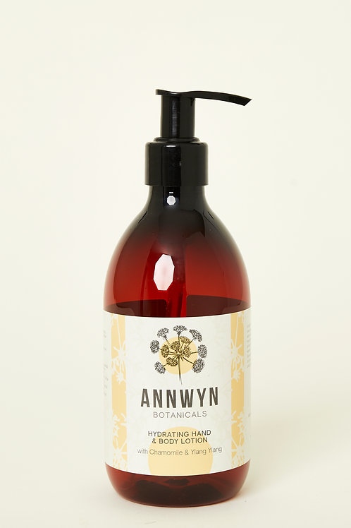 Hydrating Hand & Body Lotion with Chamomile & Ylang Ylang