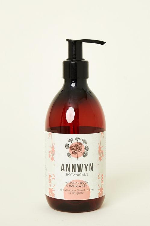 Natural Body & Hand Wash with Mandarin, Sweet Orange & Bergamot