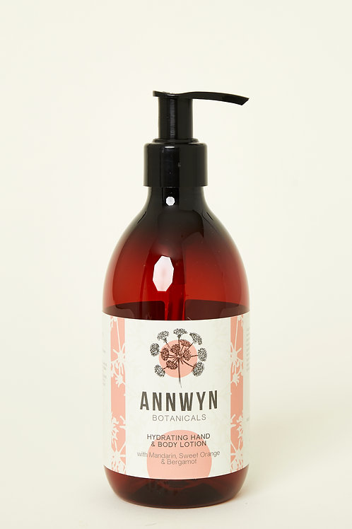 Hydrating Hand & Body Lotion with Mandarin, Sweet Orange & Bergamot
